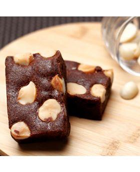 American Brownie: Chocolate Maccademia  บราวนี่ช็อคโกแล็ตแมคคาเดเมีย