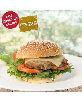 Oregano Pork Burger เบอร์เกอร์หมูออริกาโน่