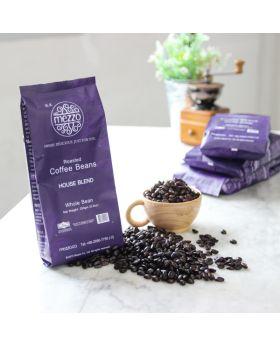 เมล็ดกาแฟคั่ว  Roasted Coffee Beans , House Blend : 250gm