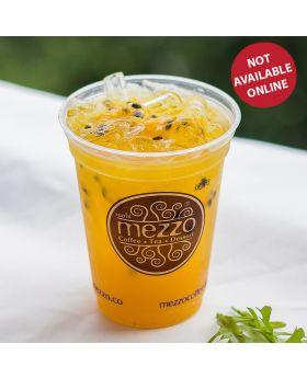 PASSION FRUIT JUIZZY เสาวรส โซดา 充氣果汁: 百香果