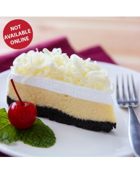 White choc Cheesecake  ไวท์ ช็อค ชีสเค้ก