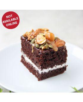 Caramel Toffee Nuts Cake คาราเมล ท๊อฟฟี่ นัท เค้ก