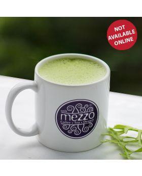 HOT GREEN TEA LATTE  ชาเขียวลาเต้ร้อน  抹茶拿鐵