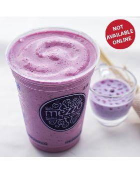 BLUEBERRY YOGURT FRAPPE  บลูเบอรี่ โยเกิดร์ปั่น บลูเบอรี่ โยเกิดร์ปั่น 藍莓酸奶