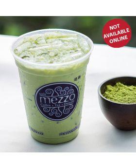 ICED GREEN TEA LATTE  ชาเขียวลาเต้เย็น 抹茶拿鐵