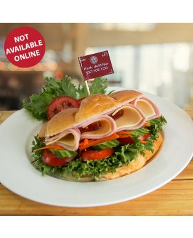 Croissant Sandwich ครัวซองค์ แซนวิช