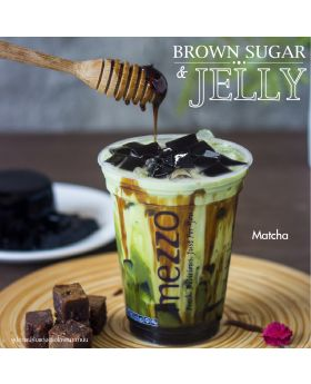Matcha Brown Sugar & Jelly
