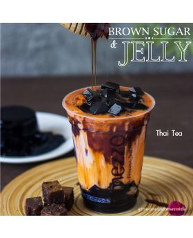 Thai Tea Brown Sugar & Jelly