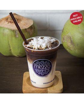Iced Coconut Coffee   กาแฟเย็นมะพร้าวน้ำหอม   泰式冰椰咖啡
