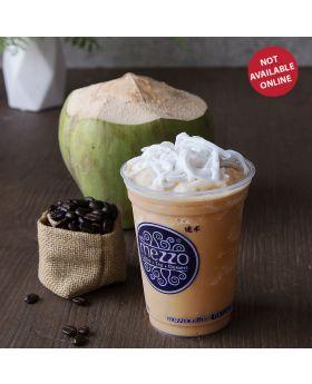 Coconut Coffee Frappe   กาแฟปั่นมะพร้าวอ่อน    椰咖啡沙冰