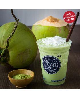 Coconut Matcha Frappe  มัทฉะปั่นมะพร้าวอ่อน   椰抹茶沙冰