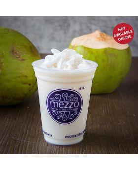 Coconut Milk Frappe   นมปั่นมะพร้าวอ่อน   椰奶沙冰
