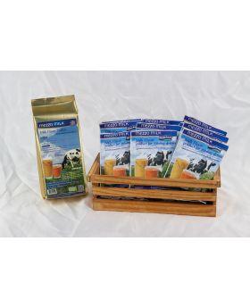 Mezzo Milk Powder  1 Bag :10 Individual Servings : ผลิตภัณฑ์เเต่งรสนมชนิดผง เมซโซ่ 1 ถุง บรรจุนมผง 10 ซอง