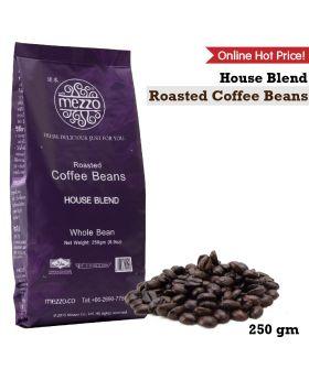 เมล็ดกาแฟคั่ว  Roasted Coffee Beans , House Blend : 250gm - 2 Bags  (210 ฿ / Bag)