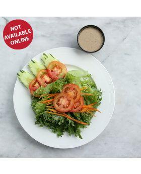 MIXED SALAD สลัดผัก  沙拉: 奶油 / 芝麻沙拉醬