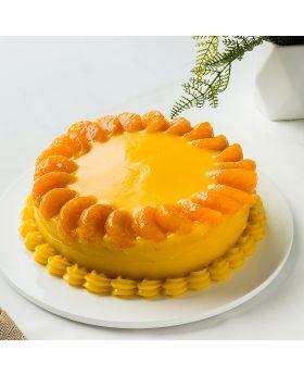 Orange cake  เค้กส้ม