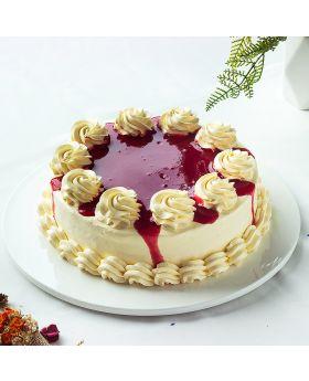 Strawberry Yogurt Cheesecake : สตรอเบอรี่โยเกิตร์ชีสเค้ก