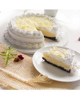 White Chocolate Cheesecake   ไวท์ช็อคโกแล็ตชีสเค้ก